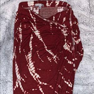 ❣️Asymmetrical ❣️ Tye Dye Skirt